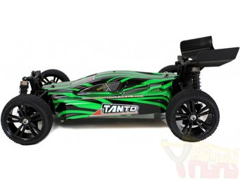 Багги 1:10 Himoto Tanto E10XBL Brushless (зеленый)-WORLD-HOBBIES