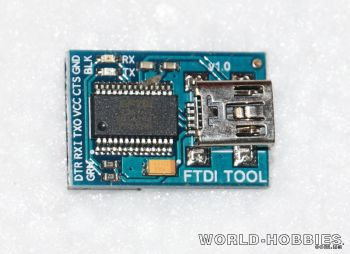 FTDI адаптер V1.0 - WORLD-HOBBIES