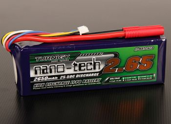 Turnigy nano-tech 2650mah 4S 25~50C Lipo  -WORLD-HOBBIES.com.ua