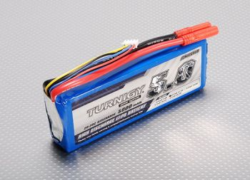 Turnigy 5000mAh 3S 20C Lipo Pack -WORLD-HOBBIES.com.ua